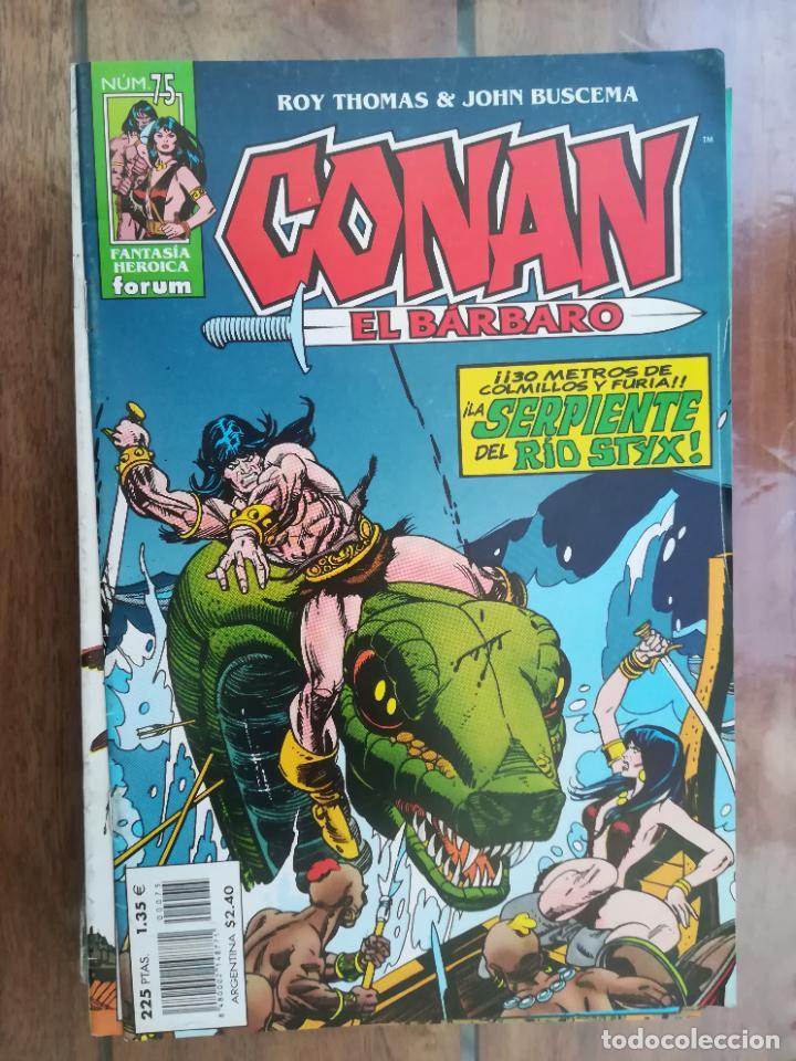 CONAN EL BÁRBARO. Nº 75. EDICIÓN CRONOLÓGICA. FORUM (Tebeos y Comics - Forum - Conan)