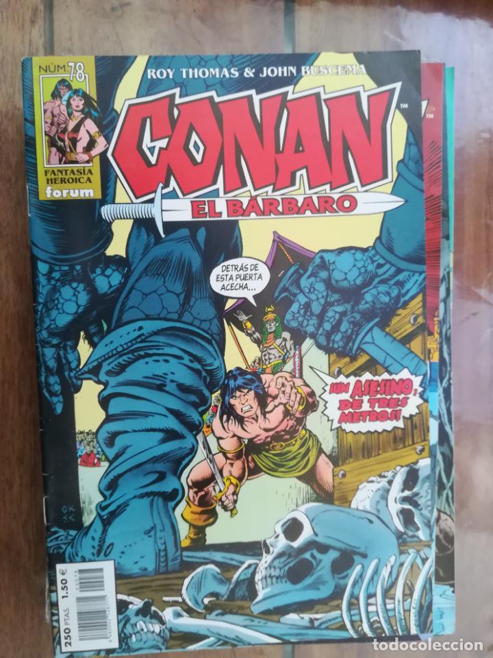 CONAN EL BÁRBARO. Nº 78. EDICIÓN CRONOLÓGICA. FORUM (Tebeos y Comics - Forum - Conan)