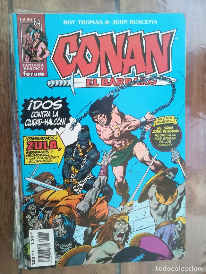 CONAN EL BÁRBARO. Nº 84. EDICIÓN CRONOLÓGICA. FORUM (Tebeos y Comics - Forum - Conan)