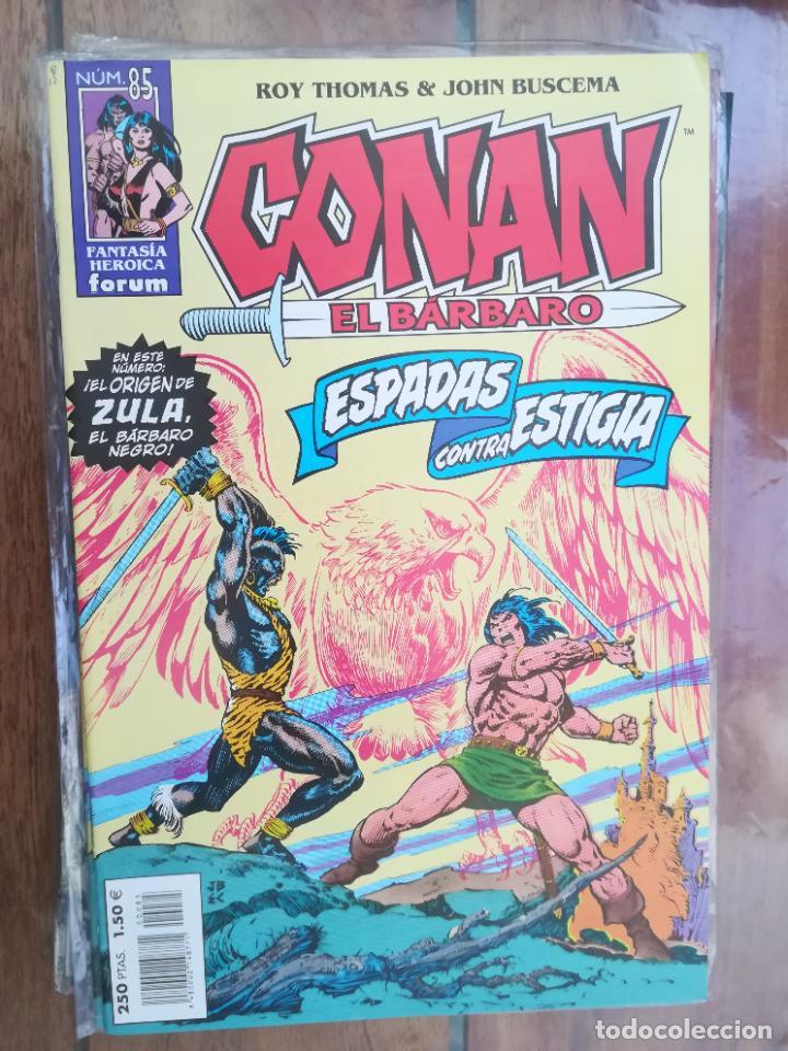 CONAN EL BÁRBARO. Nº 85. EDICIÓN CRONOLÓGICA. FORUM (Tebeos y Comics - Forum - Conan)