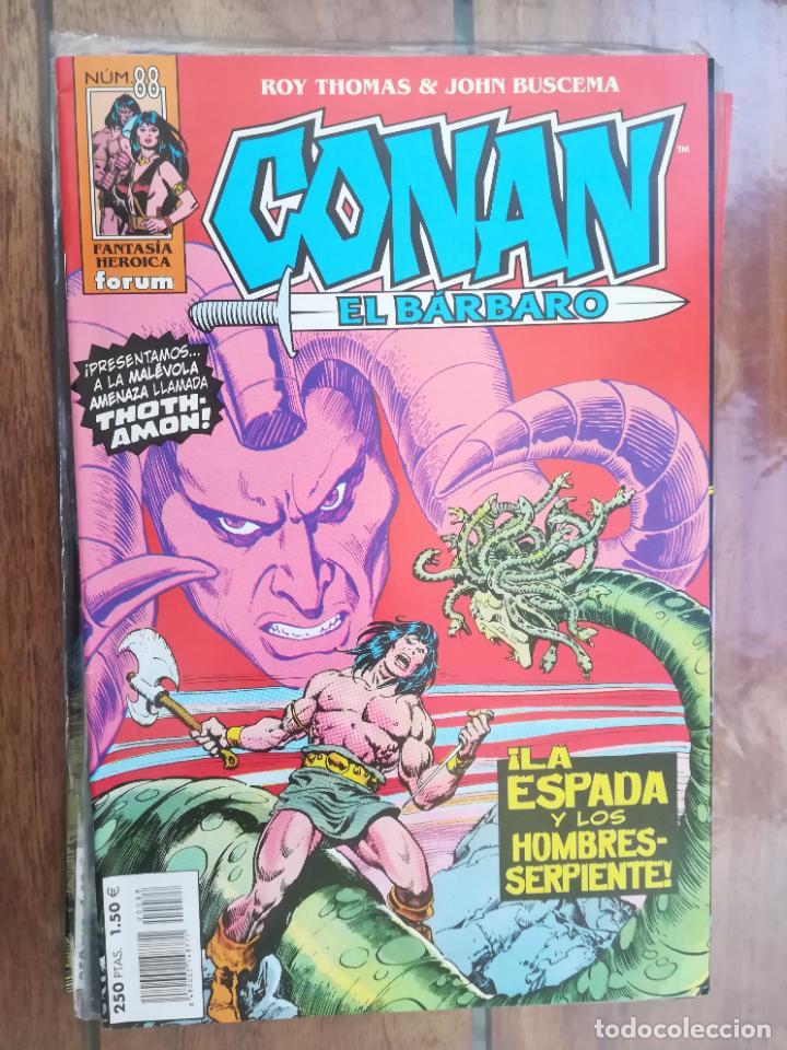 CONAN EL BÁRBARO. Nº 88. EDICIÓN CRONOLÓGICA. FORUM (Tebeos y Comics - Forum - Conan)