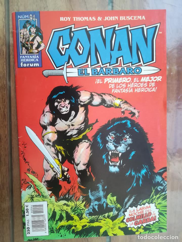 CONAN EL BÁRBARO. Nº 94. EDICIÓN CRONOLÓGICA. FORUM (Tebeos y Comics - Forum - Conan)