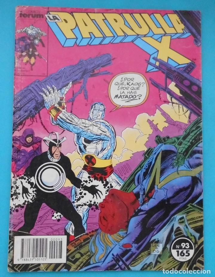 TEBEO LA PATRULLA X, COMICS FORUM Nº 93 (Tebeos y Comics - Forum - Patrulla X)