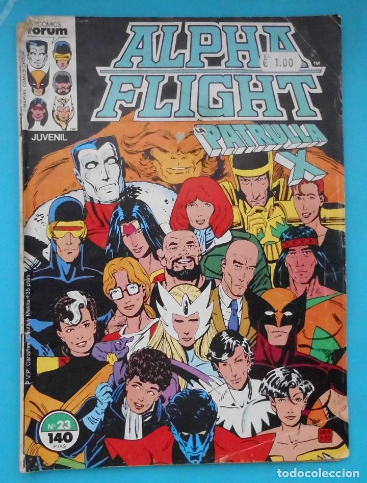 TEBEO, ALPHA FLIGHT Y LA PATRULLA X, COMICS FORUM, Nº 23 (Tebeos y Comics - Forum - Alpha Flight)