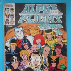 Cómics: TEBEO, ALPHA FLIGHT Y LA PATRULLA X, COMICS FORUM, Nº 23. Lote 217992597