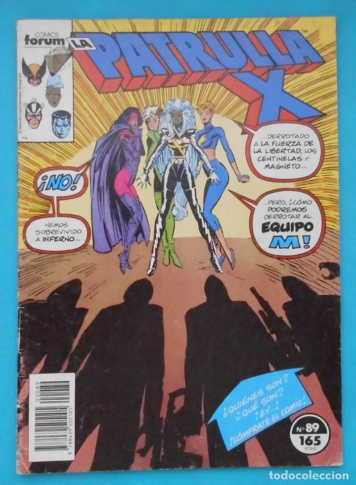 TEBEO, LA PATRULLA X, COMICS FORUM, Nº 89 (Tebeos y Comics - Forum - Alpha Flight)