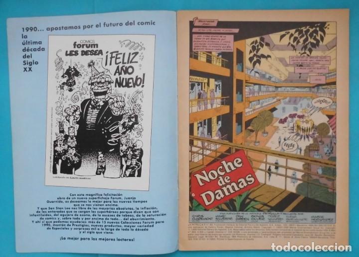Cómics: TEBEO LA PATRULLA X, COMICS FORUM Nº 89 - Foto 2 - 217992761
