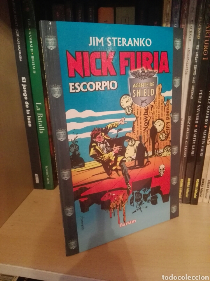 Cómics: Lote Nick Furia tomos forum Steranko - Foto 2 - 218009658