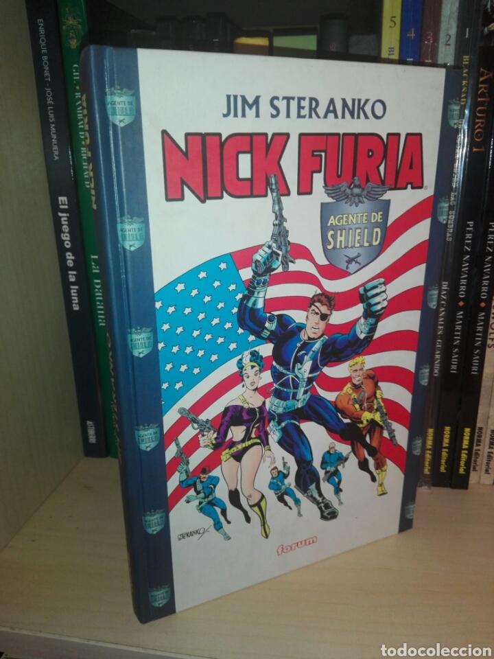 LOTE NICK FURIA TOMOS FORUM STERANKO (Tebeos y Comics - Forum - Furia)