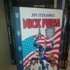 Cómics: LOTE NICK FURIA TOMOS FORUM STERANKO. Lote 218009658