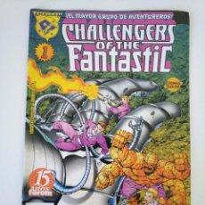 Comics : AMALGAM CHALLENGERS OF THE FANTASTIC. Lote 218039897