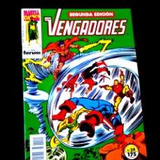 Cómics: DE KIOSCO LOS VENGADORES 24 SEGUNDA EDICION FORUM. Lote 218072788