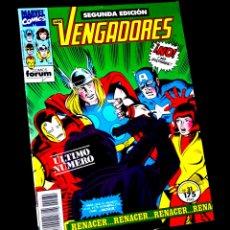 Cómics: EXCELENTE ESTADO LOS VENGADORES 31 SEGUNDA EDICION FORUM. Lote 218074210