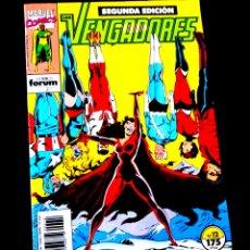 Cómics: EXCELENTE ESTADO LOS VENGADORES 12 SEGUNDA EDICION FORUM. Lote 218074467