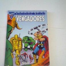 Cómics: LOS VENGADORES - BIBLIOTECA MARVEL EXCELSIOR - NUMERO 1 - MUY BUEN ESTADO - CJ 117 - GORBAUD. Lote 218074683