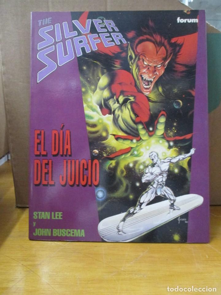 SILVER SURFER / EL DIA DEL JUICIO / STAN LEE / JOHN BUSCEMA / FORUM (Tebeos y Comics - Forum - Silver Surfer)