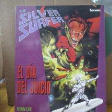 Cómics: SILVER SURFER / EL DIA DEL JUICIO / STAN LEE / JOHN BUSCEMA / FORUM. Lote 218079418