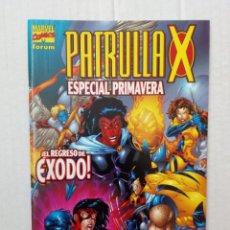 Cómics: PATRULLA X ESPECIAL PRIMAVERA. ¡EL REGRESO DE ÉXODO!. Lote 218088276
