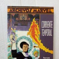 Cómics: ARCHIVOS MARVEL. LOS 4 FANTÁSTICOS: CORRIENTE TEMPORAL, DE WALT SIMONSON. Lote 218099063