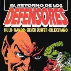Cómics: EL RETORNO DE LOS DEFENSORES-EXTRA VERANO. Lote 218102036