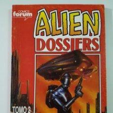 Cómics: ALIEN DOSSIERS TOMO RETAPADO 2 - NÚMEROS 6 A 10 - FORUM. Lote 218144627