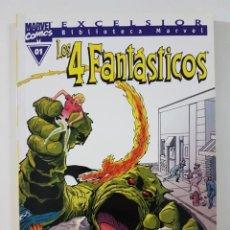Cómics: BIBLIOTECA MARVEL 4 FANTASTICOS NÚMEROS 01 02 03- TOMO MARVEL FORUM. Lote 218158093