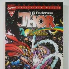Cómics: BIBLIOTECA MARVEL THOR Nº 33 - TOMO MARVEL FORUM. Lote 218159358