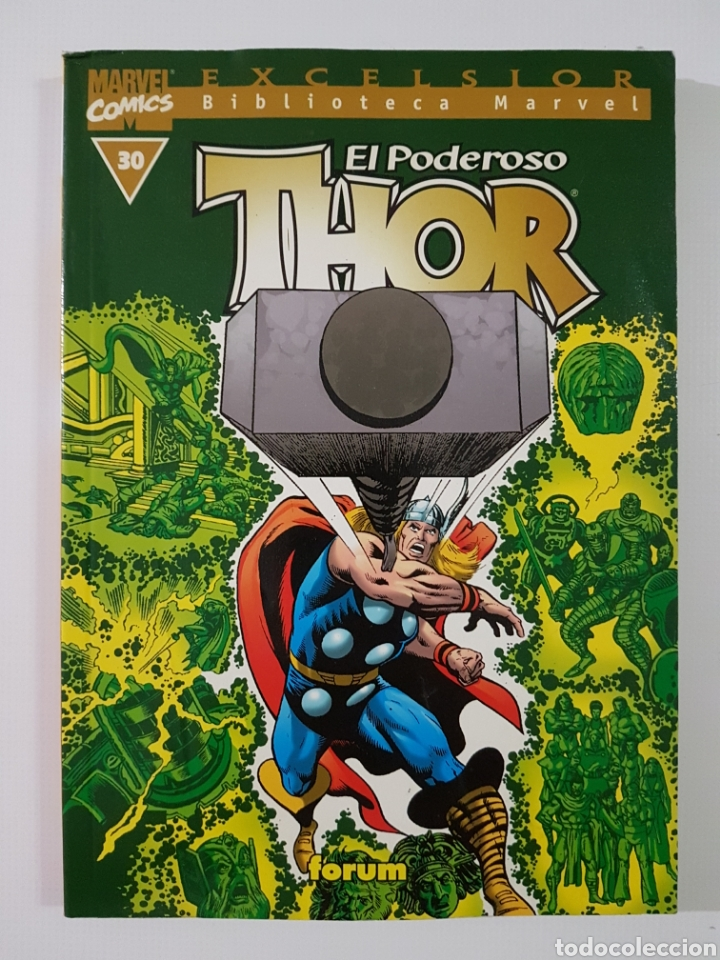 BIBLIOTECA MARVEL THOR Nº 30 - TOMO MARVEL FORUM (Tebeos y Comics - Forum - Thor)