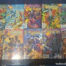 Cómics: COMICS 4 FANTÁSTICOS - HEROES REBORN - CASI COMPLETA - NÚMERO 01 AL 10 - FORUM. Lote 218167080