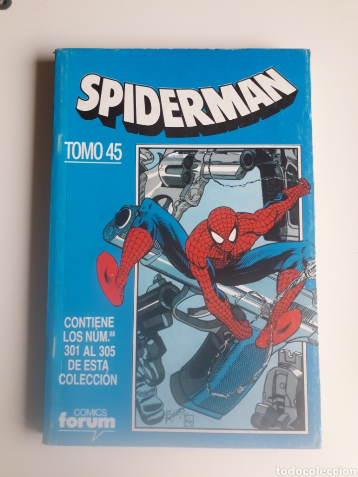 SPIDERMAN RETAPADO NUM 45. NUM 301, 302, 303, 304 Y 305. (Tebeos y Comics - Forum - Spiderman)