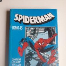 Cómics: SPIDERMAN RETAPADO NUM 45. NUM 301, 302, 303, 304 Y 305.. Lote 218174775