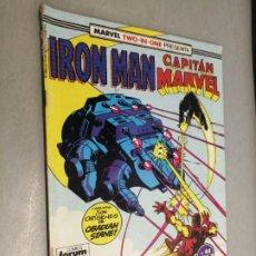 Comics: IRON MAN - CAPITÁN MARVEL Nº 44 VOL. 1 / MARVEL - FORUM. Lote 218184538