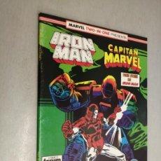 Comics: IRON MAN - CAPITÁN MARVEL Nº 45 VOL. 1 / MARVEL - FORUM. Lote 218184722