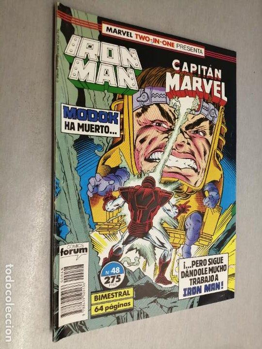 IRON MAN - CAPITÁN MARVEL Nº 48 VOL. 1 / MARVEL - FORUM (Tebeos y Comics - Forum - Iron Man)