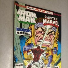 Comics: IRON MAN - CAPITÁN MARVEL Nº 48 VOL. 1 / MARVEL - FORUM. Lote 218185333