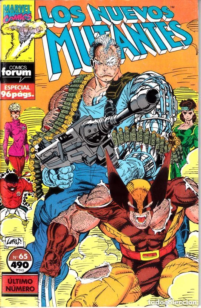 LOTE LOS NUEVOS MUTANTES - DEL Nº57 AL Nº65 (ULTIMO NUMERO) (Tebeos y Comics - Forum - Nuevos Mutantes)