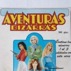 Cómics: AVENTURAS BIZARRAS, RETAPADO NÚMEROS 1 AL 3, FORUM. Lote 218219163