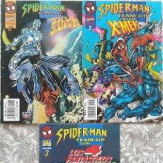 Cómics: SPIDERMAN TEAM UP 1,2,3. Lote 218236511