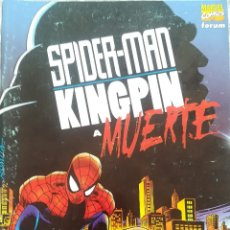Cómics: SPIDERMAN KINGPIN A MUERTE. Lote 218236806