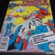 Cómics: TRANSFORMERS DEL 36 AL 40. Lote 218246588