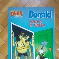 Cómics: OLÉ DISNEY Nº 16 - DONALD: TRUCO O TRATO. Lote 218264906