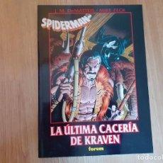 Cómics: SPIDERMAN,LA ÚLTIMA CACERÍA DE KRAVEN,COMICS FORUM. Lote 218266128