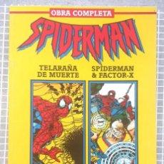 Cómics: SPIDERMAN. TELARAÑA DE MUERTE-JUEGOS OSCUROS. RETAPADO 2 SL. 6 COMICS FORUM 1995. Lote 218270471