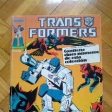 Cómics: TRANSFORMERS NºS 21 22 23 24 Y 25 EN UN TOMO RETAPADO - TRANS FORMERS. Lote 218281008