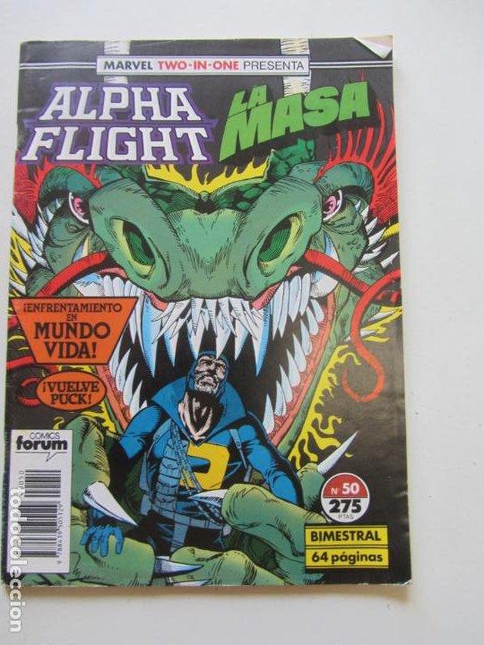 ALPHA FLIGHT VOL. 1 Nº 50 CONSERVA POSTER FORUM MUCHOS MAS EN VENTA MIRA TUS FALTAS C24 (Tebeos y Comics - Forum - Alpha Flight)