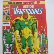 Cómics: WHAT IF VOL. 1 Nº 28 VISION VENGADORES FORUM MUCHOS MAS EN VENTA MIRA TUS FALTAS C24. Lote 218311353