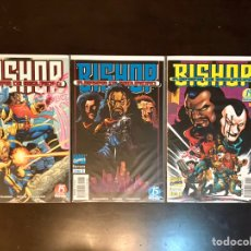 Cómics: BISHOP FUERZAS DE SEGURIDAD - SERIE LIMITADA BISHOP - COMPLETA. Lote 218322893