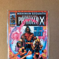 Cómics: ESPECIAL PATRULLA-X - MAXIMUM SECURITY. Lote 218323886