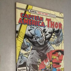 Cómics: CAPITÁN AMÉRICA - THOR VOL. 1 Nº 58 / MARVEL FORUM. Lote 218354187