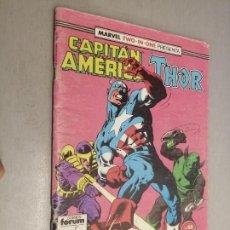 Cómics: CAPITÁN AMÉRICA - THOR VOL. 1 Nº 65 / MARVEL FORUM. Lote 218354347